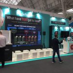 Video Wall stand Bitdefender - Infosecurity Europe 2018, Londra