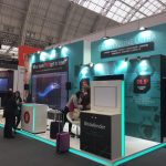 Video Wall, Bitdefender stand - Infosecurity Europe 2018, London
