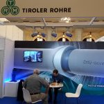 Ecran LED stand Tiroler Rohre- Metal Show 2018, Bucuresti