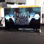 Video Wall, Mazak stand - Metal Show, 2018, Bucharest