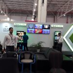 LED Screens Syswin booth - 2018