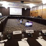 LED displays & sound system at CRENERG Conference - Crowne Plaza Bucharest - 2018