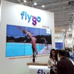 Video Wall FLYGO Booth - TTR 2018