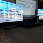 Video Wall IQVIA Event - 2018