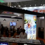 50 inch LED Display - Cocktail Holidays Booth - TTR 2019