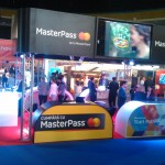 Ecran LED Stand Mastercard IMWorld 2015