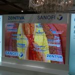 Video wall - Sanofi