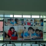 Video Wall 3x3 without frames - EduApps - National Library of Romania - 2016