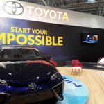 LED Screen, Toyota stand - SIAB 2018, Bucharest