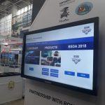 Touchscreen 40 inch - BSDA 2018, Bucuresti