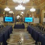 Ecrane LED 85 inch - eveniment Grand Hotel du Boulevard 2018