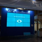 Video Wall Grup Feroviar Roman booth - 2018