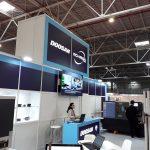 Ecran LED stand DOOSAN ROMEGA TRADE TIB 2018