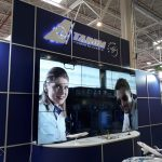 Video Wall TAROM Booth - TTR 2018