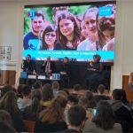 Închiriere videowall și ecrane mari - Videowall eveniment UNICEF U-Report_2019