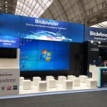 55 inch videowall - Bitdefender booth at Infosecurity Europe 2019, London (2)
